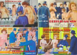 PYB: Postcard Fairs Sydney Petersham [ Nude Limited Edition 2013-IV-3] - Illustrators & Photographers