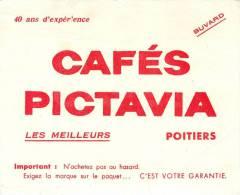 Buvard Réf.005. Café Pictavia - Poitiers - Café & Thé