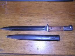 Wehrmachts-Bajonet K-98 - Knives/Swords