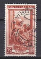 R847 - REPUBBLICA , 25 Lire Lavoro Fil Ruota 1 Sinistra Bassa Used - 6. 1946-.. Repubblica