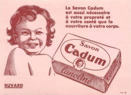 Buvard Réf.010. Savon Cadum - Parfums & Beauté