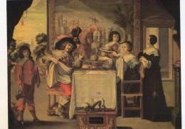 LE GOUT D' ABRAHAM BOSSE.CPM. - Paintings