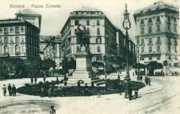 Genova  Piazza Corvetto  Cpa - Genova