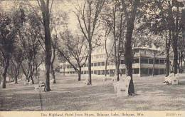 Wisconsin Delavan Lake Highland Hotel