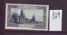 FRANCE. TIMBRE. VIGNETTE. BELLE FRANCE................... ........MAINTENON - Erinnophilie
