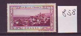 FRANCE. TIMBRE. VIGNETTE. BELLE FRANCE. ALPES COTE D AZUR................GRASSE - Tourism (Labels)