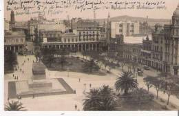 MONTEVIDEO (URUGUAY)  CARTE PHOTO PLAZA INDEPENDENCIA   3753      1932 - Uruguay