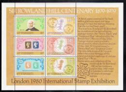 St. Vincent MNH Scott #547a Souvenir Sheet Of 6 Sir Rowland Hill Centenary - London 1980 Int´l Stamp Exhibition - St.Vincent (1979-...)