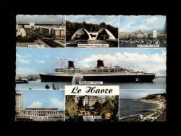 76 - LE HAVRE - Multi Vues - 1584 - Paquebot FRANCE - Bateau - Transat - Andere