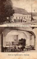 Gruss Aus Kunzendorf Bei Obernigk Oborniki Slaskie Etablissement Von Richard Peche Old Postcard - Polen