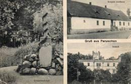Gruss Aus Peruschen Wohlau Wołow Kergers Gasthaus 1910 Postcard - Polen