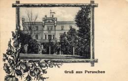 Gruss Aus Peruschen Wohlau Wołow 1910 Postcard - Polen