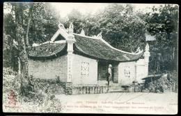 CPA.   TONKIN.  Yen-Thé Pagode Des Serments. - Vietnam