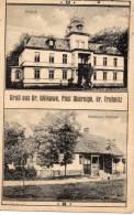 Gruss Aus Gr Wilkawe Wilkow Obernigk Gasthaus Werner 1910 Postcard - Polen