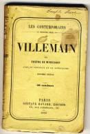 VILLEMAIN   - Les Contemporains Par Eugène De Mirecourt . - Biographie