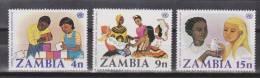 Sambia / Zambia 1977 Mi. 186-188** MNH - Zambia (1965-...)