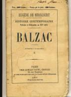BALZAC    - HISTOIRE CONTEMPORAINE Par Eugène De Mirecourt . N°5 - Biographie