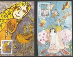 Yugoslavia, 1993, Children For Peace, Carte Maximum (CM) - Dolls