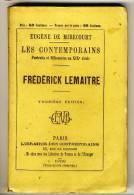 FREDERICK LEMAITRE    - LES CONTEMPORAINS Par Eugène De Mirecourt . N°78 - Biographie
