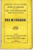 PAUL DE CASSAGNAC    - LES CONTEMPORAINS Par Eugène De Mirecourt . N°93 - Biographie
