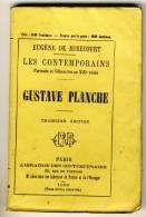 GUSTAVE PLANCHE   - LES CONTEMPORAINS Par Eugène De Mirecourt . N°70 - Biographie