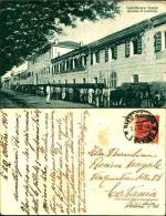 1016)cartolina -castelfranco Veneto-caserma Di Cavalleria-animata -viaggiata-1918 - Treviso
