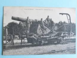 CAMP DE MAILLY - Pièce ALVF - Obusier De 19m/m - Mailly-le-Camp