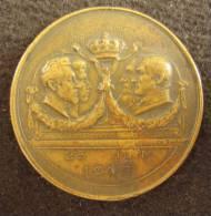 M01387 Concession des charbonnages 1803-1903 par Rombaux un mineur, visite prince Albert et Elisabeth Warocqu� 8 g