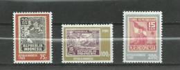 INDONESIE - 1980 - 35ème ANNIVERSAIRE DE LA REPUBLIQUE INDEPENDANTE - BOEUF - N° 888/890 - NEUF*** - Indonesia