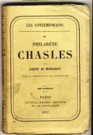 Philarète CHASLES   - LES CONTEMPORAINS Par Eugène De Mirecourt . - Biographie