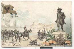 3750-2° REGGIMENTO BERSAGLIERI-ILLUSTRATORE A. DALBESIO-FP - Regimente