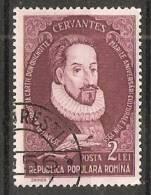Romania 1955  Writers: Miguel De Cervantes Saavedra  (o) - Gebruikt