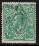 AUSTRALIA   Scott #  60  VF USED - 1913-36 George V: Heads