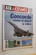 AIR ET COSMOS .           9  Novembre  2001 .n° 1817 .Concorde. - Aviazione