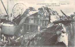 83 - Toulon - Catastrophe Du Cuirassé Liberté, 25 Septembre 1911, Débarquement Des Passerelles - Toulon