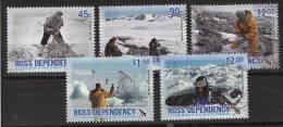 ROSS Dependency -2006 Activités Diverses En Antarctic - 5v Neufs*** // Mnh Set - Dipendenza Di Ross (Nuova Zelanda)