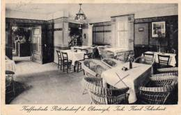 Kaffediete Karl Schubert Ritschedorf Bei Obernigk Oborniki Śląskie Old Postcard - Polen