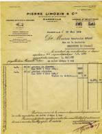 MARSEILLE    27  Bd De STRASBOURG- Pierre LIMOZIN    Légumes Secs, Riz Et Graines.   A4 - Agriculture