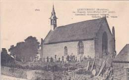21893 Questembert, Chapelle Saint Michel, Campanil Récemment Restauré. 1504 David Vannes Cimetiere - Questembert