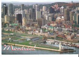 Montreal, QuebecVue Aerienne Du Vieux-Port, Du Vieux-Montreal, Du Centre Ville Et Du Mont-Royal - Montreal