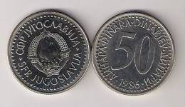 Yugoslavia 50 Dinara 1986. UNC KM#113 - Yugoslavia