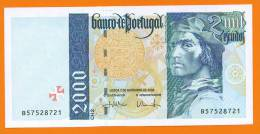 # PORTUGAL 2000 Escudos Chapa 2 07/11/2000 P#189d AUNC - Portugal
