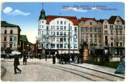 Lemberg, Lwow, Lviv_2, Kalicki-Platz, Walowagasse, K.u.k. Militär_Zensur, 23.6.1916, WK1, WW1 - Ukraine