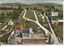 Cpsm, Sainte Honorine Des Pertes (Calvados), Le Camping, Vue Aérienne - France