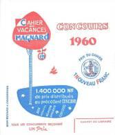 Buvard Réf.025. Cahier De Vacances Magnard - Stationeries (flat Articles)