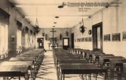 BELGIQUE - FLANDRE ORIENTALE - ZWALM - BEERLEGEM - BIERLEGEM - Kostschool Der Zuster Van Liefde - Studiezaal. - Zwalm
