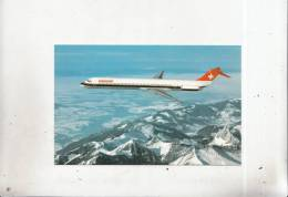Br44755 Macdonnell Douglas MD 81 Swissair Plane Airplane  2  Scans - 1946-....: Moderne