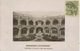 LISBON - CLAUSTRO DOS JERONYMOS 1909 - Lisboa
