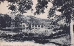 CPA-36- INDRE  -  EGUZON -  Le Pont Des Piles Sur La Creuse, Près Du Barrage - France