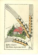 68 CPA Trois Epis Notre Dame  Illustrateur   MLR - Trois-Epis